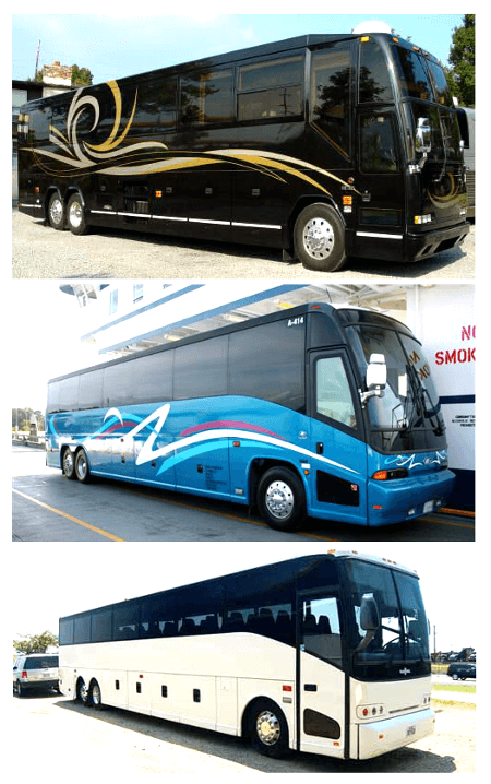 Charter Bus River Ridge LA