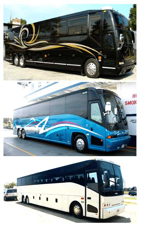Cheap Charter Bus Bossier City LA