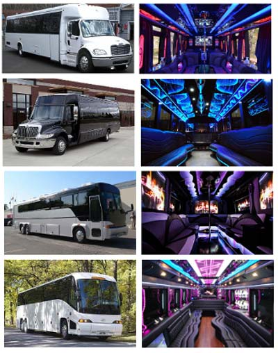 Party Bus Houma LA Rental